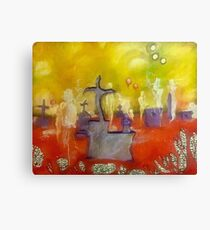 """""""Constant Death and Rebirth is a House Party the Cops Can't Shut Down (How Graveyards Greet Children of Saturn)"""" Canvas Print"""