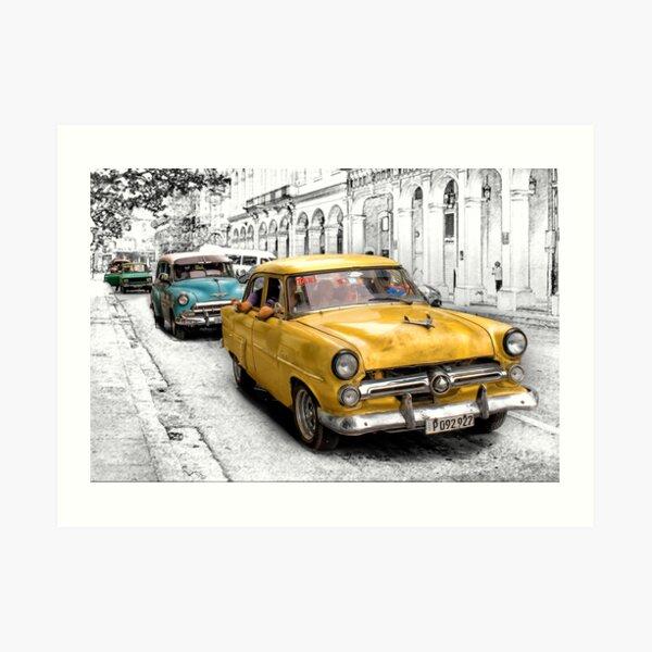 1952 Ford Customline Sedan Art Print