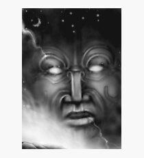 Ranginui-sky god Photographic Print