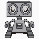 Zeebo The Robot by notebookstudio