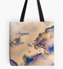 Cloud Tumbling Tote Bag