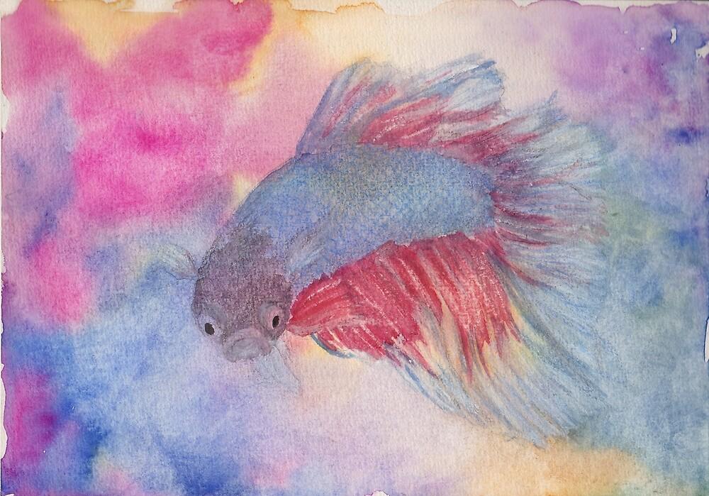 Fighting Fish by Linda Ursin