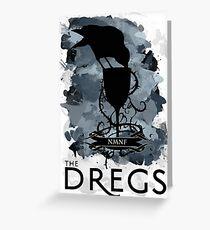 Tarjeta de felicitación Six Of Crows - The Dregs