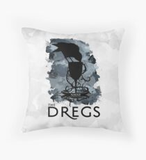Six Of Crows - The Dregs Throw Pillow