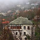 Traditional architecture of Pelion mountain by Hercules Milas