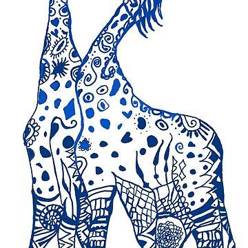 Beso de jirafas de Manitarka
