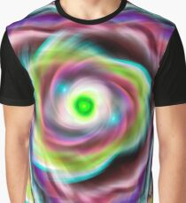 Abstract pattern of fractal waves and vortex  Graphic T-Shirt