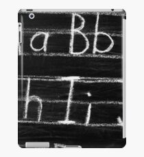 Teacher Blackboard Alphabet iPad Case/Skin