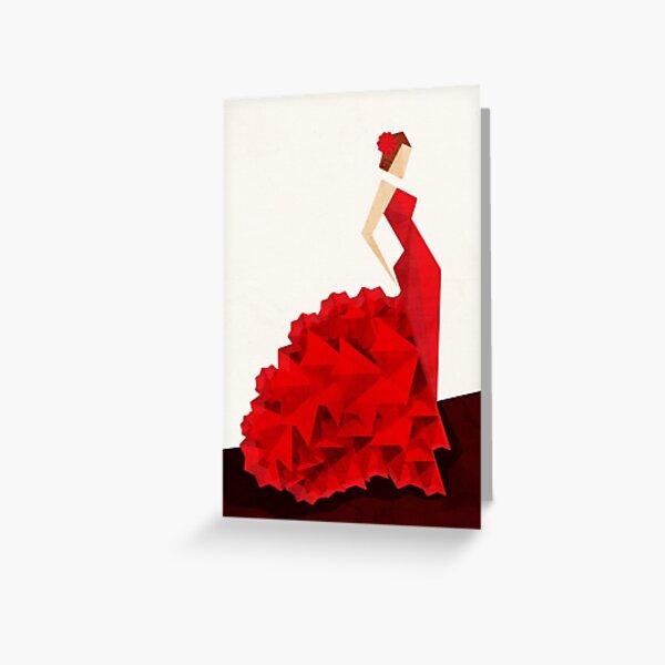 The Dancer (Flamenco) Greeting Card
