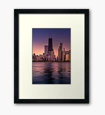 My Name is John Hancock Framed Print
