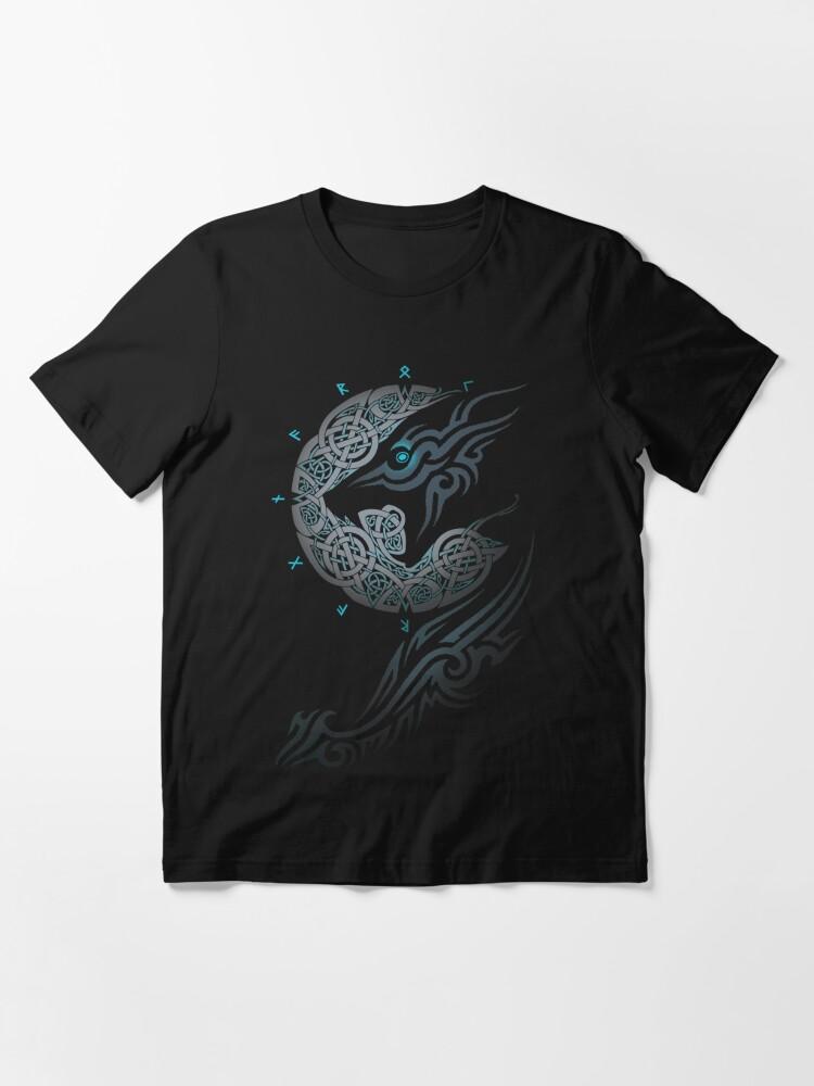 Alternate view of RAGNAROK MOON Essential T-Shirt