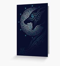 Ragnarok-Mond Grußkarte