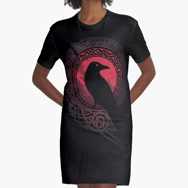 EDDA Graphic T-Shirt Dress