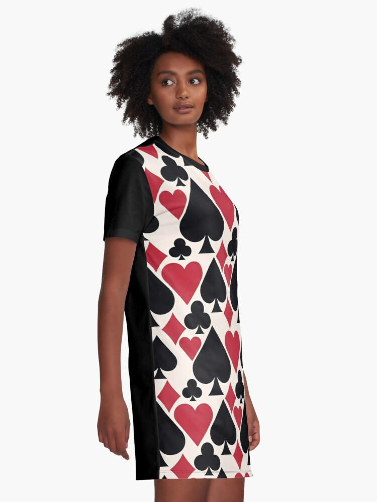 Alternate view of Casino Fun Graphic T-Shirt Dress