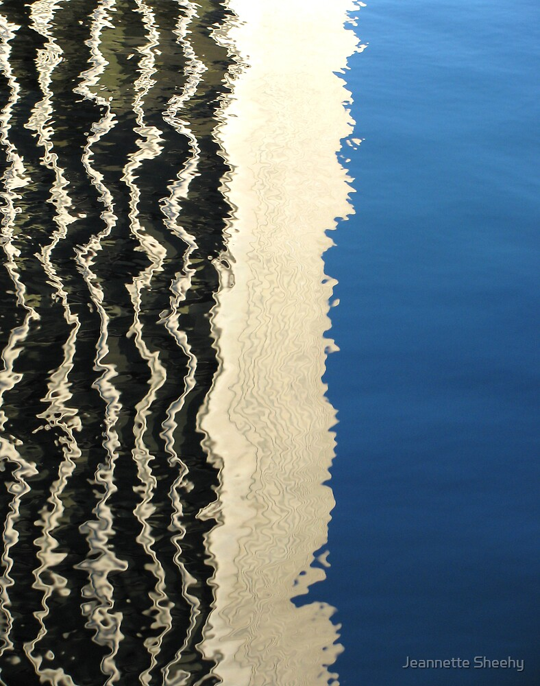 Water Reflection 4 by Jeannette Sheehy