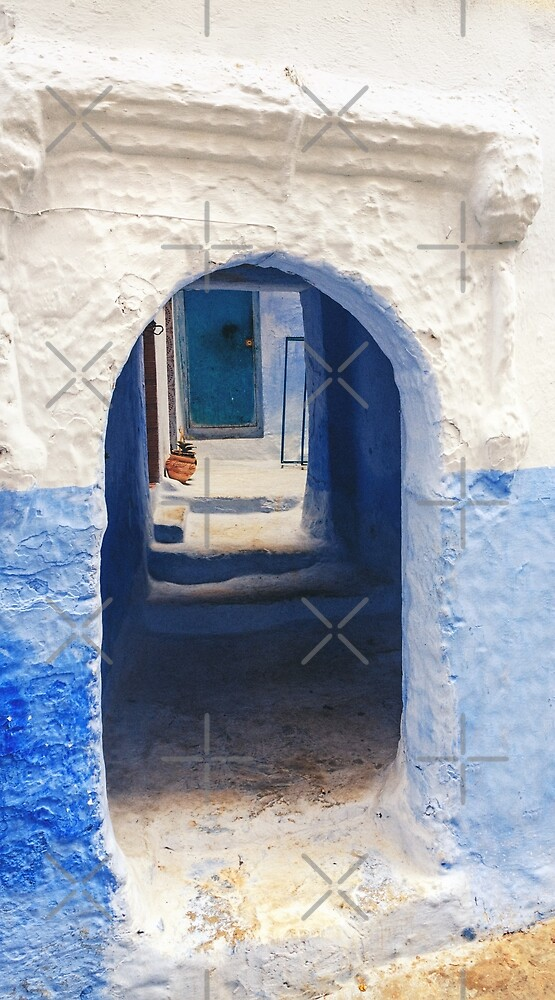 Gates of Chaouen II by zouhair lhaloui