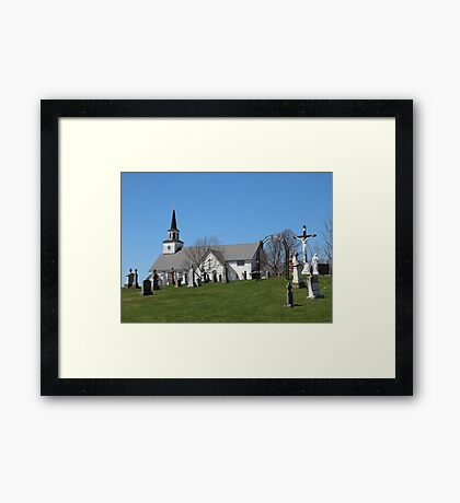 St. Georges Parish Church P.E.I. Canada Framed Print