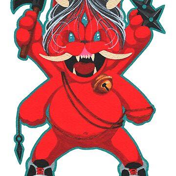 Karma Assassins/Lucky Oni Cat:  Vengeance Mode by SadoStyle