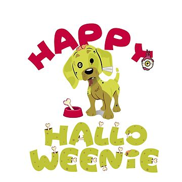 Happy Halloweenie - Cute Dachshund by mydachshund