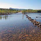 Pentecost River crossing by Liz Worth