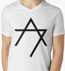 Aggettivo Sette - Logo (nero) Men's V-Neck T-Shirt
