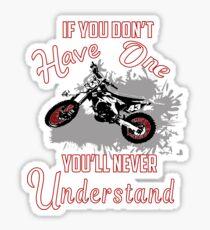 Motocross Shirt, Motocross Dirt Bike Tee Shirt Sticker