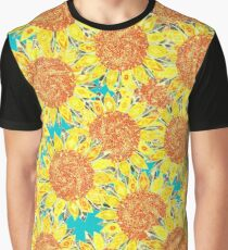 sunflower field Graphic T-Shirt