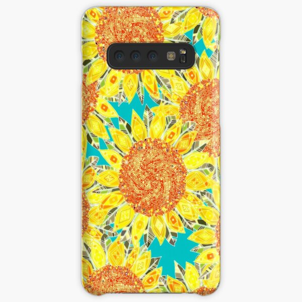sunflower field Samsung Galaxy Snap Case