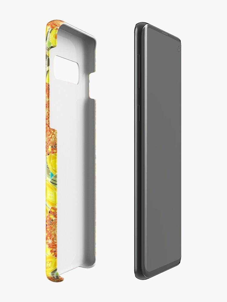 Alternative Ansicht von Sonnenblumenfeld Hüllen & Klebefolien für Samsung Galaxy