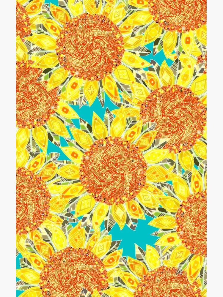 Sonnenblumenfeld von scrummy