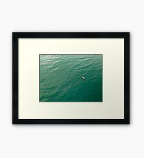 Fishing at Hallett Cove Framed Print