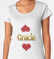 Gracie Women's Premium T-Shirt