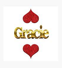Gracie Photographic Print