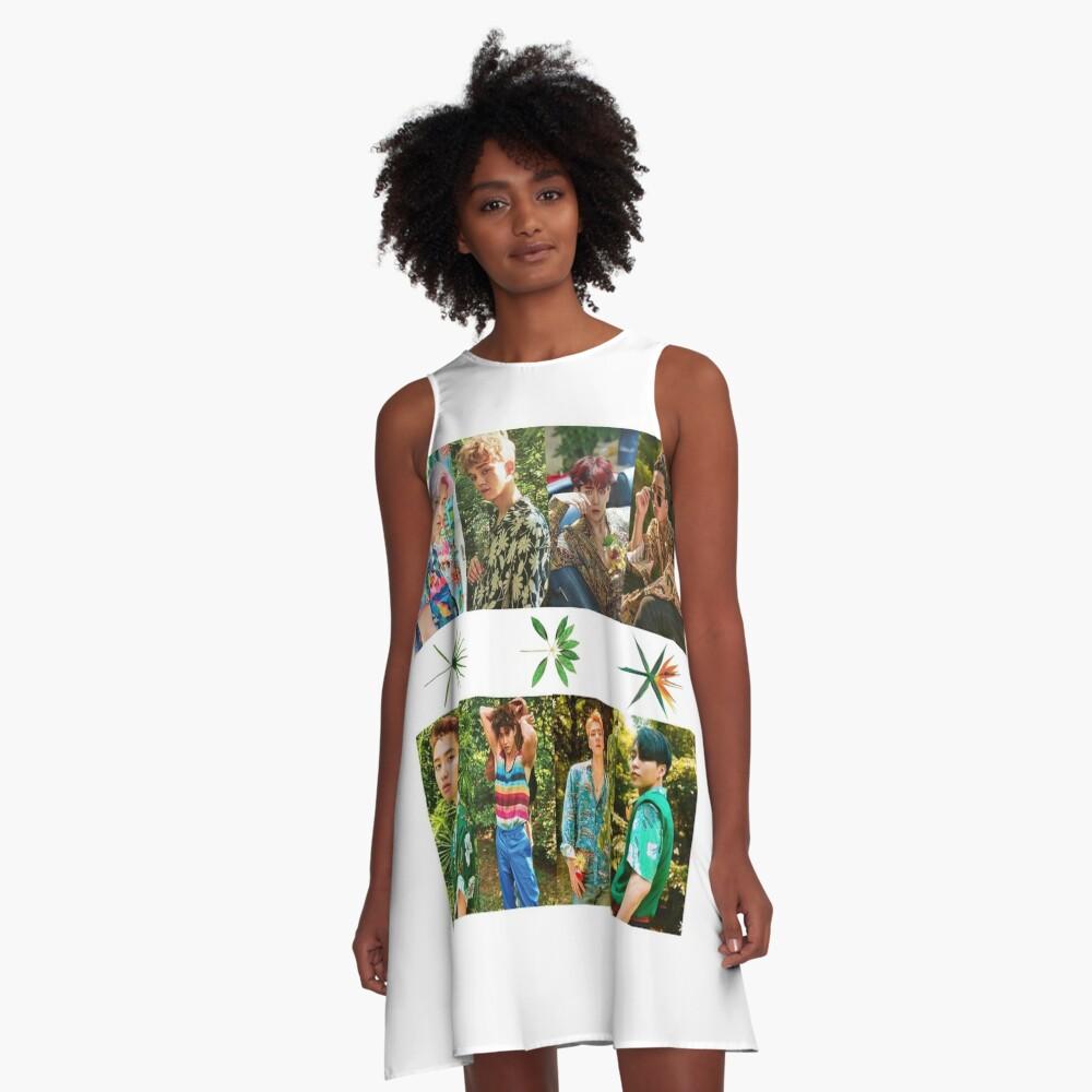 Exo A-Linien Kleid