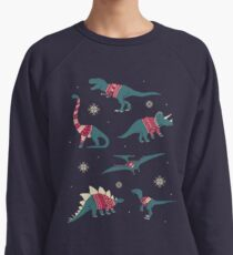 Dinos In Sweaters Lightweight Sweatshirt