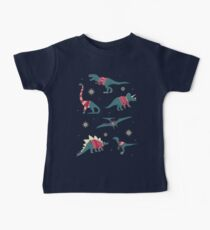 Dinos In Sweaters Baby Tee