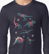 Dinos In Sweaters Long Sleeve T-Shirt