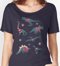Dinos In Sweaters Women's Relaxed Fit T-Shirt
