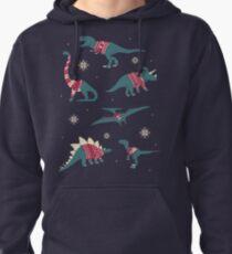 Dinos In Sweaters Pullover Hoodie