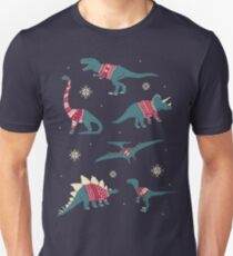 Dinos In Sweaters Unisex T-Shirt
