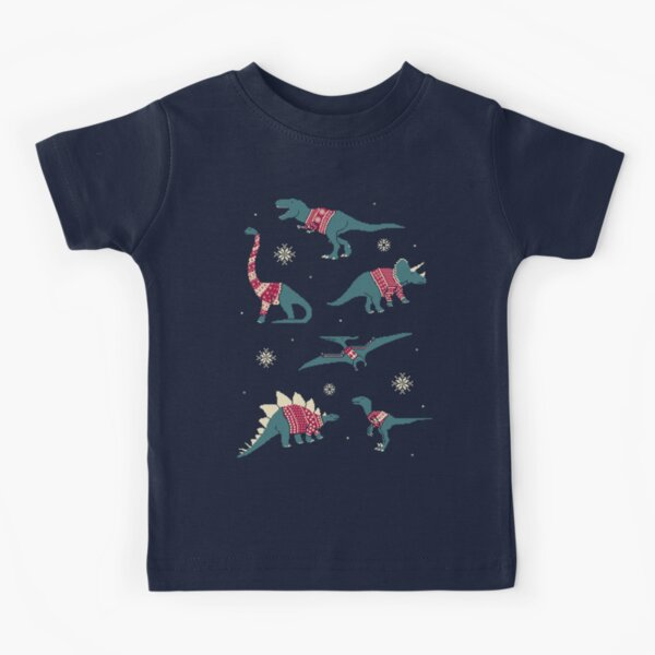Dinos In Sweaters Kids T-Shirt