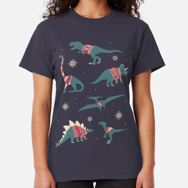 Dinos In Sweaters Classic T-Shirt