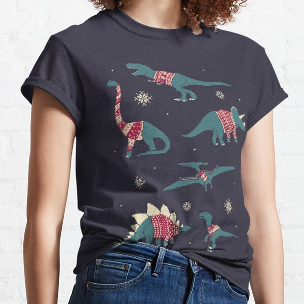 Dinos in Pullovern Classic T-Shirt