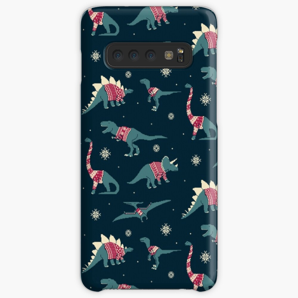 Dinos In Sweaters Case & Skin for Samsung Galaxy