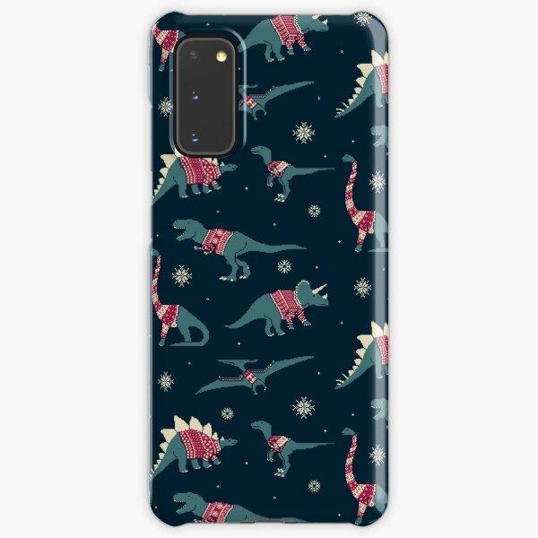 Dinos In Sweaters Samsung Galaxy Snap Case