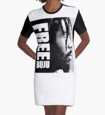 FREE BUJU Graphic T-Shirt Dress