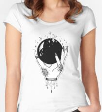 Crystal Ball Women's Fitted Scoop T-Shirt