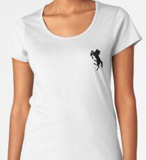 Aggettivo Sette - Cavallo Con Più Zampe Del Necessario Women's Premium T-Shirt