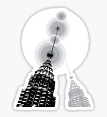Towers of Asia Sticker