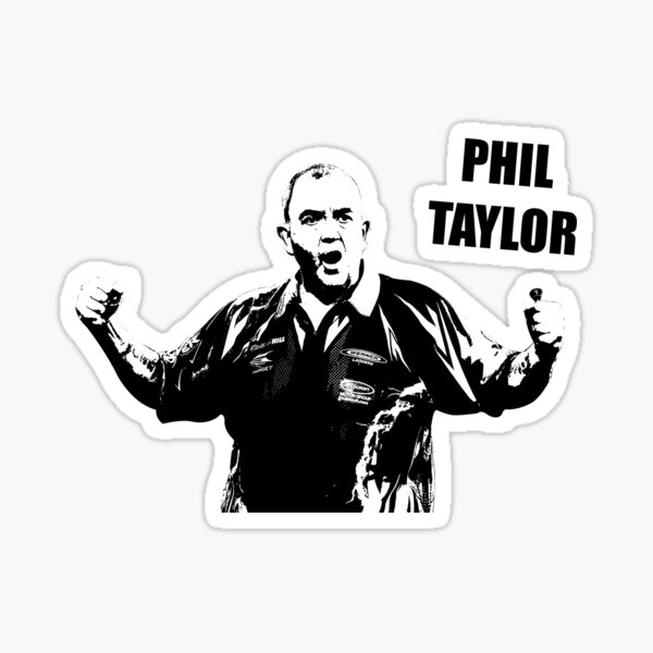 Phil Taylor - The Power Sticker